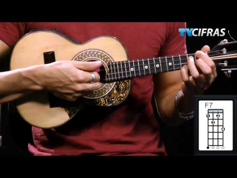 Ary Barroso - Aquarela do Brasil - Aula de cavaquinho - TV Cifras