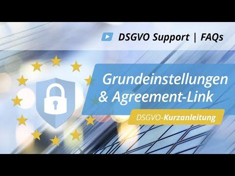 DSGVO-Kurzanleitung: Anpassung Grundeinstellung / Agreement-Link   onOffice