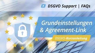 DSGVO-Kurzanleitung: Anpassung Grundeinstellung / Agreement-Link | onOffice