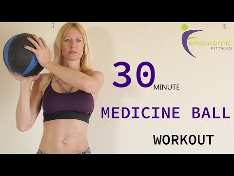 30 MINUTE MEDICINE BALL WORKOUT!