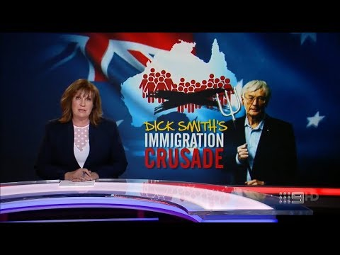 ACA. Dick Smith Immigration Crusade. (Deat By Migrant Dumping)(Agenda 21)
