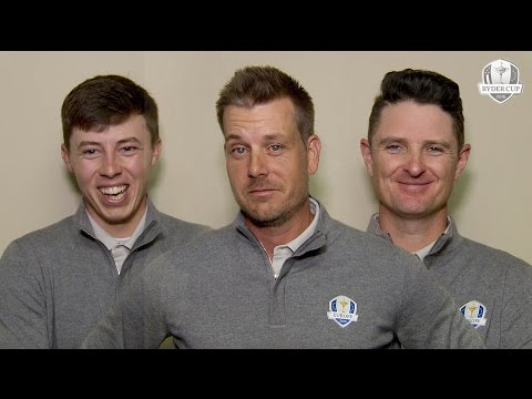Teammates: Henrik Stenson, Justin Rose and Matt Fitzpatrick