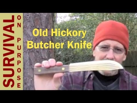 Old Hickory Butcher Knife Review