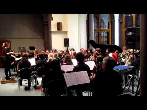 Glasgow University Music Club - Christmas Concert 2013 - Wind Band - Spirit of the Falcon