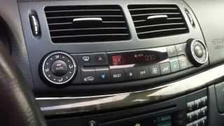 Cool hidden Feature - Mercedes E-Class W211