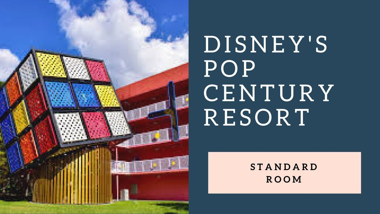 Disney Pop Century Resort Rooms Standard Room Youtube