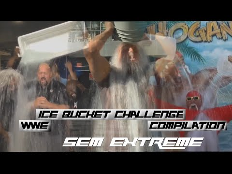 "WWE ""Ice Bucket Challenge"" Compilation [HD]"