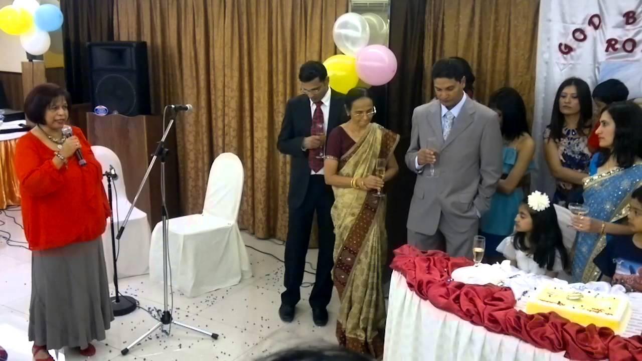 communion speech by godmother