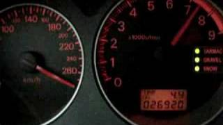 Lancer Evolution 8. Top Speed. 0 - 300