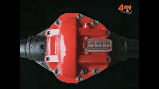 ARB Differential Cover for Jeep - Red - ARB-0750004 ...