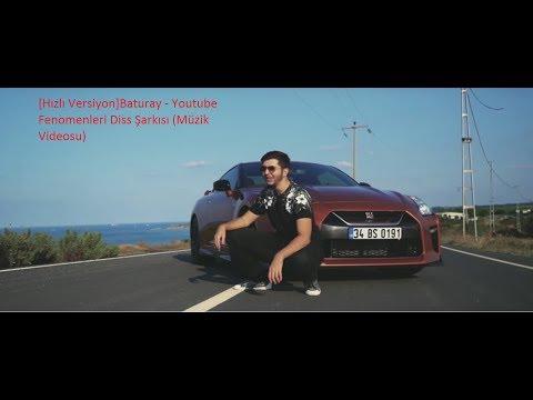 [Hızlı Versiyon]Baturay   Youtube Fenomenleri Diss Şarkısı Müzik Videosu
