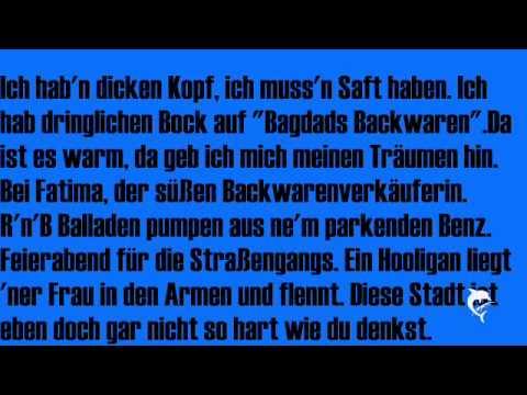 Schwarz zu blau- Peter Fox (Lyrics)