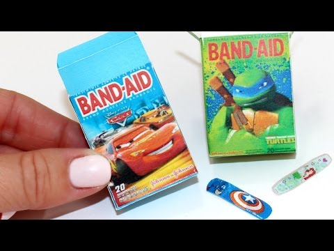 DIY American Girl Doll Band Aids