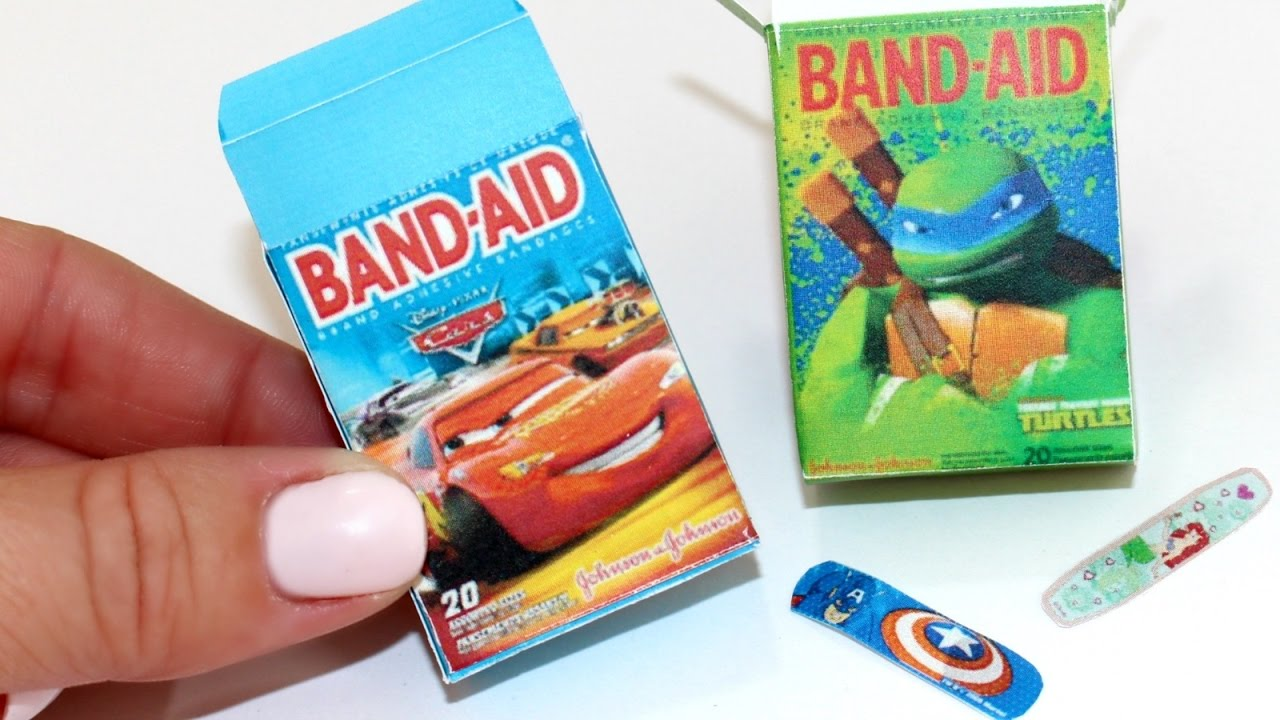 Diy American Girl Doll Band Aids Youtube