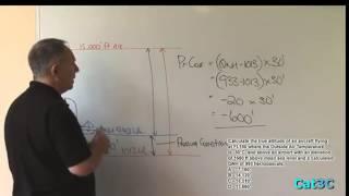 QEV 001 Pressure & True Altitude (A)