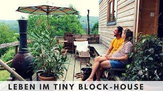 Ein Blockhaus als Tiny House