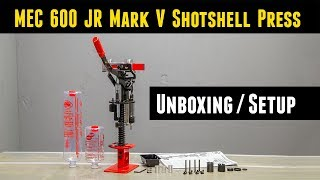 MEC 600 JR Mark V: Unboxing and Setup