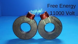Get Free energy generator with latest technology 2019 _ Diy Science project 2019