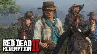 Red Dead Redemption 2 Official Gameplay Video|PS4/XboxOne.