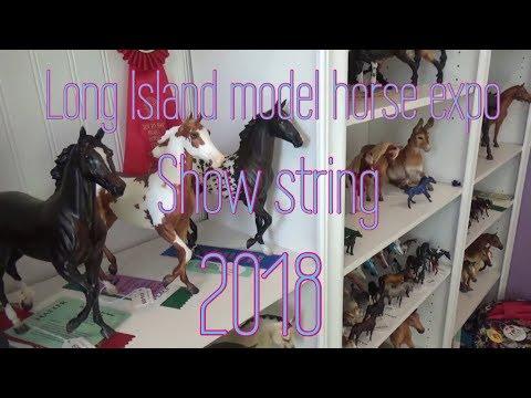 Long Island Model Horse Expo show string