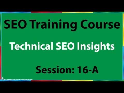 16-A Technical SEO Insights