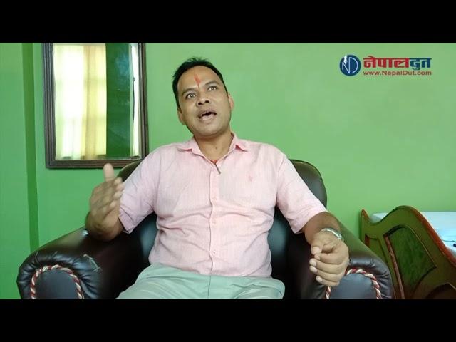 कुँवरले नेपाली काँग्रेस बागलुङको सभापतिमा उम्मेदवारी दिने