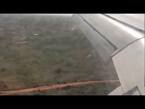 LANDING IN GAMBIA AIRPORT....BANJUL....12/12/2012