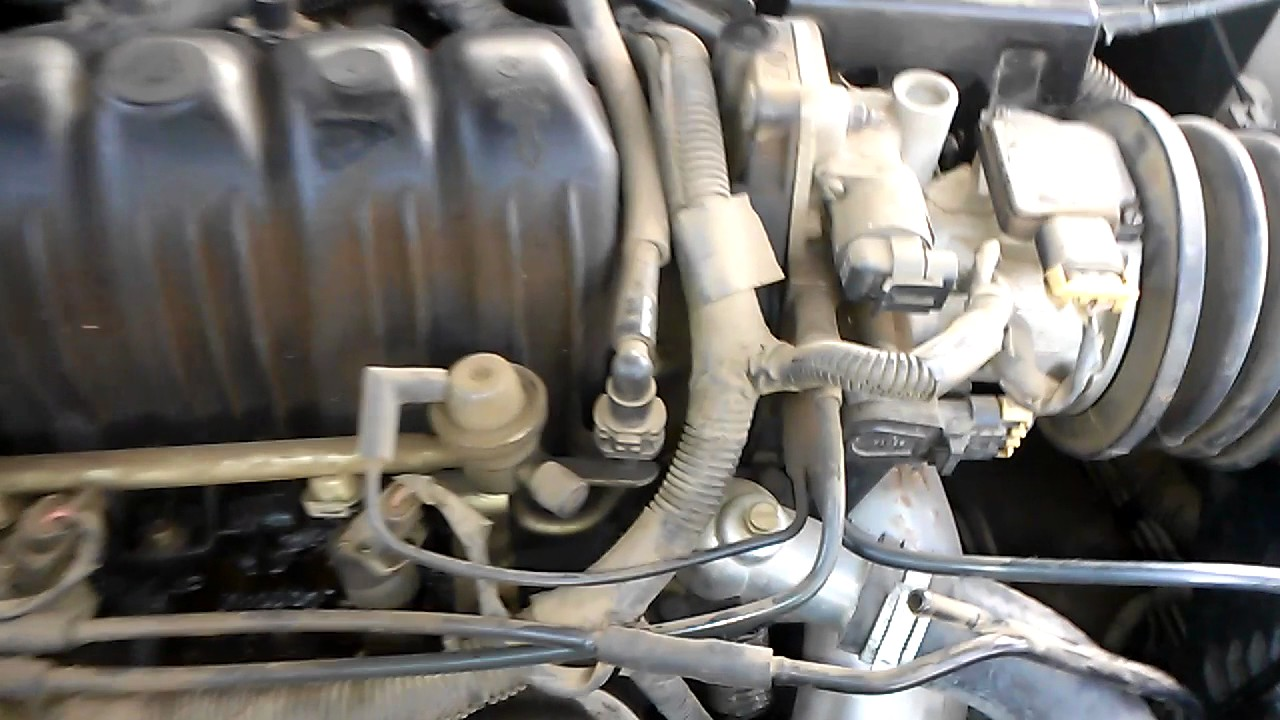where is the idle control valve in a 97 buick lesabre gm 3 8l series 2 [ 1280 x 720 Pixel ]