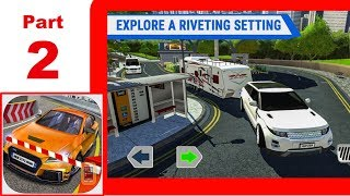 Multi Floor Garage Driver Part 2 - App Check - iPhone / iOS Game - Play with Games - Simulator