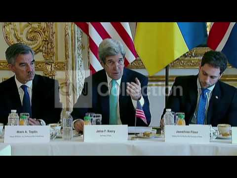 KERRY - CLEAR OBLIGATIONS AT RISK WITH UKRAINE
