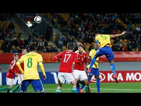 Gol de Danilo. Brasil 1-1 Hungría. (2-1). Mundial Sub-20 2015