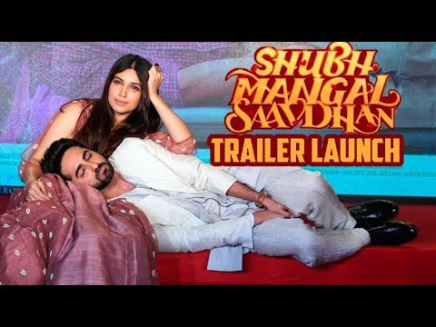 Shubh Mangal Saavdhan Trailer Launch |...
