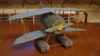 3d Origami Airplane Tutorial - Part 2