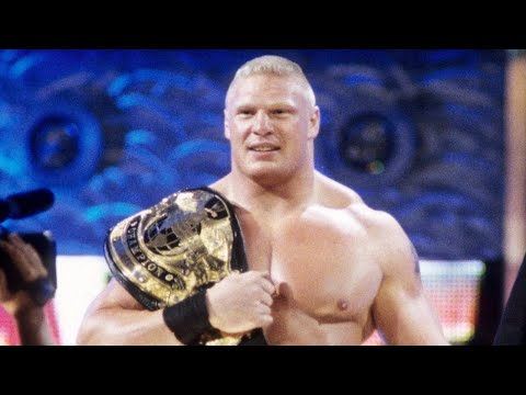 Brock Lesnar's first entrances as WWE Champion: Raw, Aug. 26, 2002