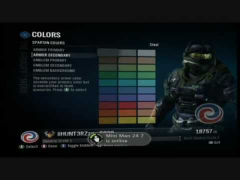How to make Jun (Noble 3) in the halo reach armory