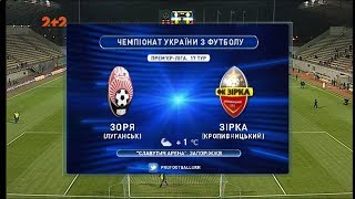FC Zorya Luhansk vs Zirka full match