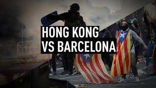 Good Hong Kong Protests Vs Bad Barcelona Protesters - Gallowayand39s Take On Mediaand39s Bias