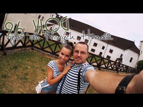 26. vlog - minivlog  Nové Hrady, hrad,  Terčino údolí, výlet,pokuta , Černej pták