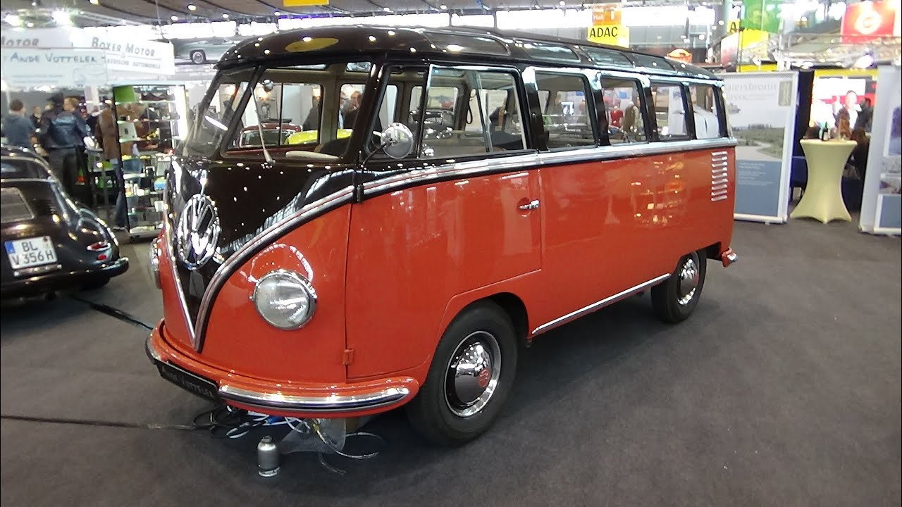 1956 volkswagen t1 samba retro classics stuttgart 2015. Black Bedroom Furniture Sets. Home Design Ideas