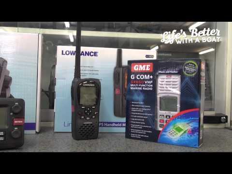 Understanding a VHF Marine Radio