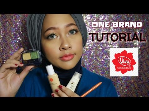 Viva Cosmetics One Brand Makeup Tutorial #9 | (Not) 100K Makeup Challenge | Firda Velayati