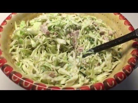 Салат из капусты - калорийность, состав, описание - www