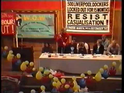 Brian Dooley demonstration London (1996)