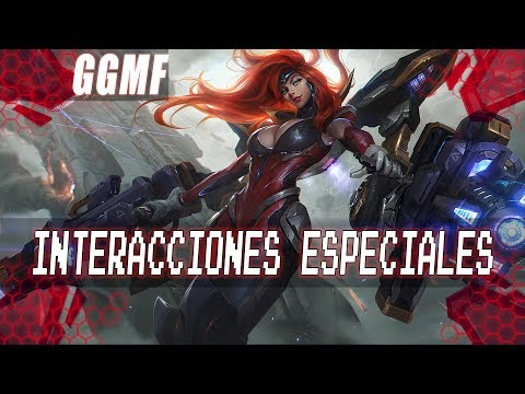 Interacciones Especiales - Miss Fortune Gatillera Galactica (Español LATAM)
