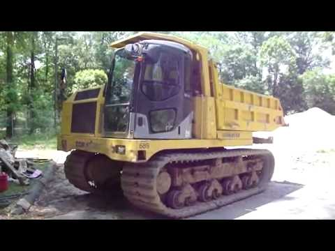 komatsu track off road dump truck youtube. Black Bedroom Furniture Sets. Home Design Ideas