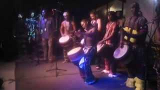 Djembe Masters Solo: Eric Bli Bi Gore and Amo Damas, Ivory Coast & Guinea Drum Solos