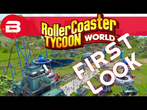RollerCoaster Tycoon World: Objective First Look Part 1 of 2 (RCTW Gameplay)