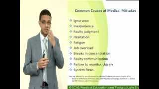 SCHS Series 5: Medical Errors