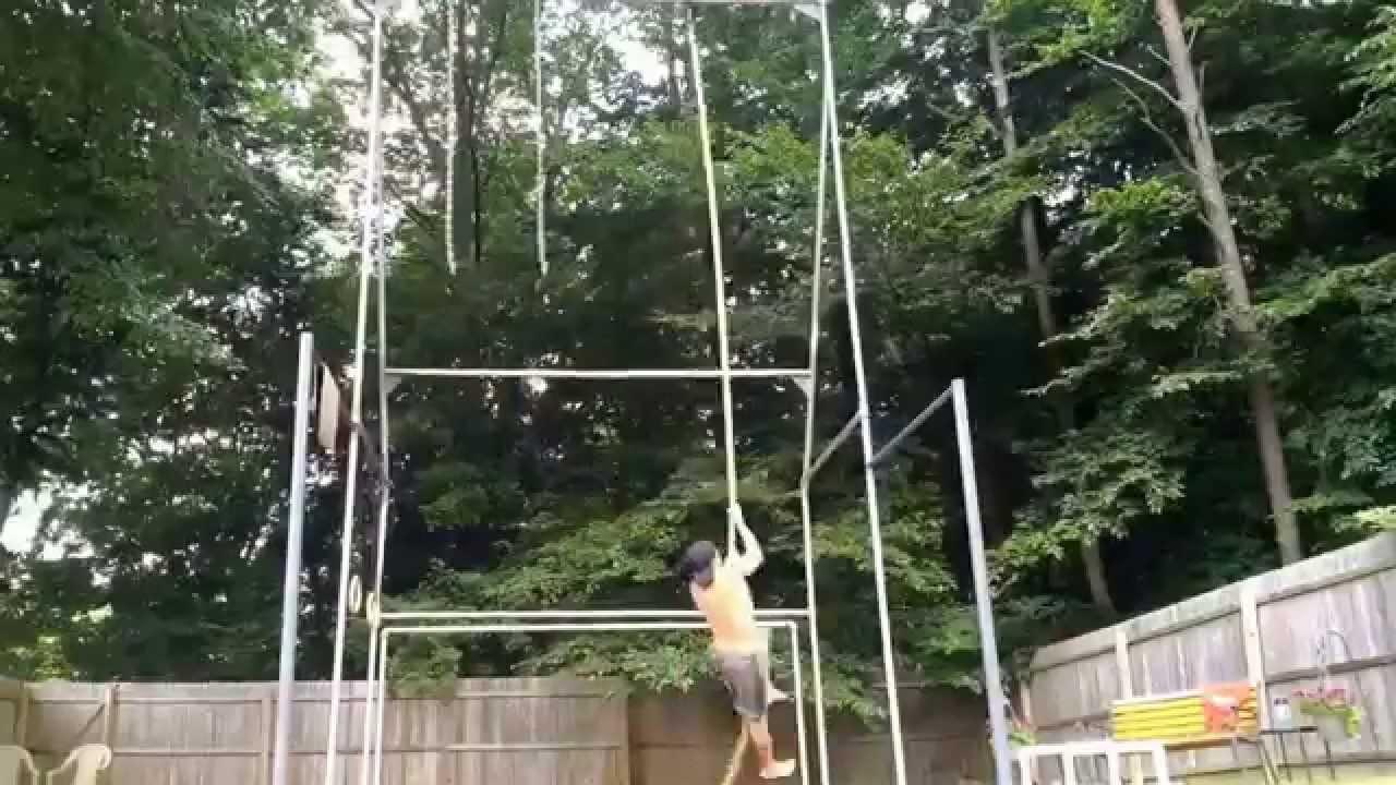 Jungle Gym Backyard