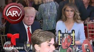 ¿Está infeliz Melania Trump en la Casa Blanca? | Al Rojo Vivo | Telemundo